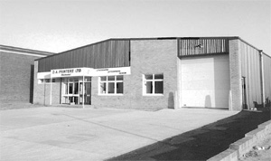 Purpose built factory on the Rochester Airport Industrial Estate - 1980